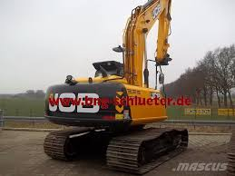 used jcb js 210 lc t4i demo crawler excavators year 2016 price