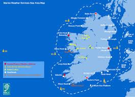 sea of map sea area map enlarged met éireann met ie the