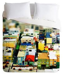 deny designs shannon clark mini city duvet cover queen size