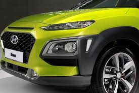 lime green bentley 2018 hyundai kona quick drive review motor trend