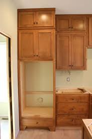 build wall oven cabinet how to make a hidden door bookcase woodcraft design plans for