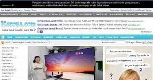 membuat iklan tas cara mudah membuat iklan menempel di atas header sumatra post