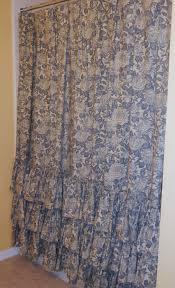 Shabby Chic Shower Curtains Pin Tuck Shabby Chic Shower Curtain U2014 Interior Exterior Homie