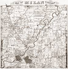 Ohio Canal Map by Old Maps The History Of Milan Ohio