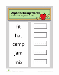 all worksheets free alphabetizing worksheets free printable
