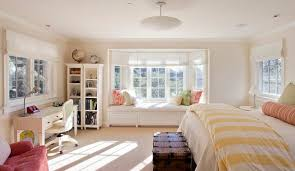 Blinds For Windows With No Recess - how to solve the curtain problem when you have bay windows