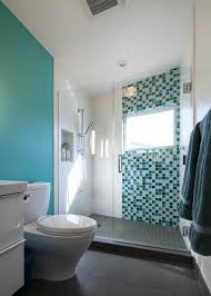 Blue And Gray Bathroom Ideas Colors Blue Bathroom Decoration Using Mosaic Glass Turquoise Bathroom