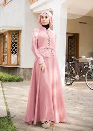 Baju Muslim Brokat koleksi baju muslim terbaru 2018 feminim dan anggun