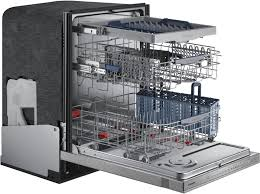 Samsung Water Wall Dishwasher Samsung Dw80h9970us Fully Integrated Dishwasher With 3rd Rack With