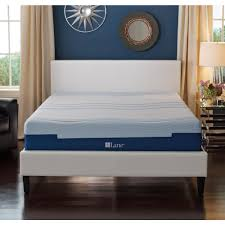 King Size Memory Foam Mattress Topper Lane 8 In King Size Memory Foam Mattress Imgell1008ek The Home