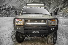 nissan frontier led light bar nissan project titan ready to tackle alaska