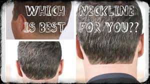 neckline haircuts for women which neckline nape is best for you hdstyles youtube
