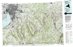 Erie County Map Map Of New York Topo Maps Topographic Maps 1 100 000