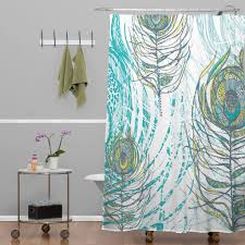 bathroom peacock curtain fabric shower curtains cloth peacock
