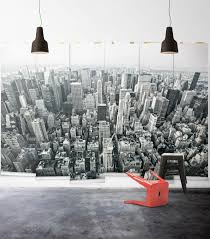 black and white new york mural wallpaper wall murals you ll love nyc aerial black white photo wall mural milton king