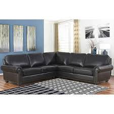 Leather Sectional Sofa Costco Leather Sofas Sectionals Costco Within Gray Sectional Idea 6