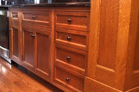 quarter sawn oak kitchen cabinets custom quarter sawn white oak kitchen cabinets craftsman