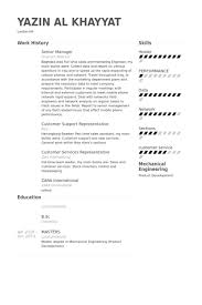 Service Delivery Manager Resume Sample by Senior Manager Resume Samples Visualcv Resume Samples Database