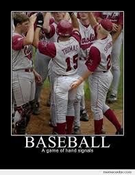 Baseball Memes - baseball a game of hand signals by ben meme center