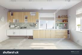 modern kitchen interior cg concept stock photo 190120085