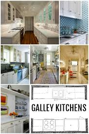 Kitchen Design Galley Layout Remodelaholic Popular Kitchen Layouts And How To Use Them