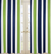 stripe window treatment kmart com navy and lime collection panels