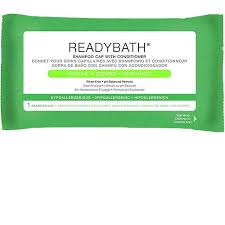 Comfort Personal Cleansing Shampoo Cap Medline Readybath No Rinse Shampoo Cap With Conditioner