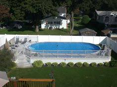 12x17 sharkline extruder semi inground pool brothers 3 pools