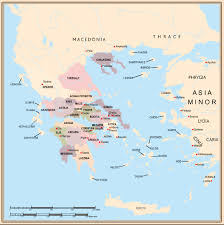 greece map political mapping ancient greece and rome
