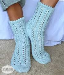 knitting pattern for socks using circular needles rainy day knotions