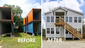 Build a 2Story House out of Shipping Containers