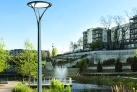 Luminaire Landscape Lighting Invue Luminaire Lights A Serene Park Walkway