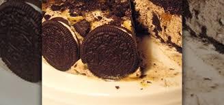 how to make an oreo ice cream cake dessert recipes wonderhowto