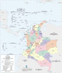 Map Of Colombia Map Of Colombia World