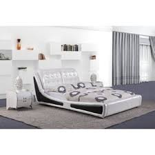 Platform Bed White Modern Beds Allmodern