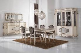 silver leaf dining room furnituretop and best italian classic