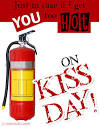 kiss day cards