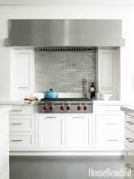 kitchen elegant white subway tile kitchen new basement ideas backs