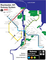 Metro Ny Map by Rochester Ny Subway Map My Blog