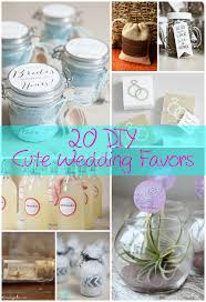 simple wedding favors 20 diy wedding favors the craftiest
