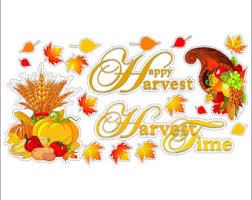 thanksgiving clings etsy