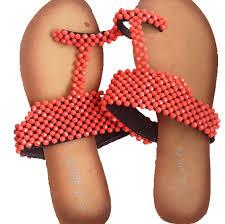 Bead Slippers Design