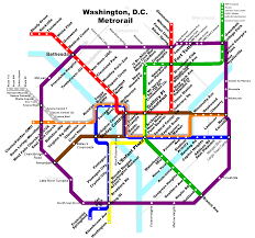 Washington Metro Map by Fantasy Metro Maps Alternate History Discussion