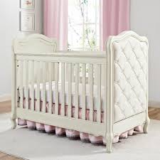 Antique White Convertible Crib Bertini Tinsley 3 In 1 Upholstered Crib Antique White Babies R Us