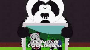 Sad Panda Meme - that makes me a very sad panda gifs watch download on gifer
