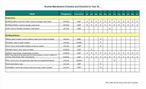 template maintenance checklist legal resumed of apartment log