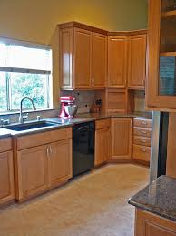 quartz countertops upper corner kitchen cabinet lighting flooring