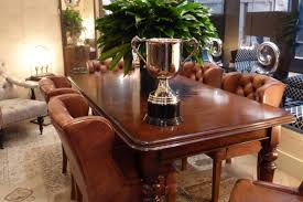 victorian dining table with chesterfield chairs timeless