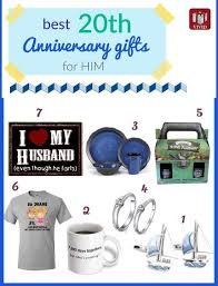 20th anniversary gift for unique 20th anniversary gifts for him s