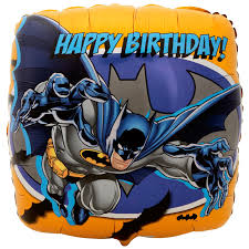 halloween foil balloons batman happy birthday foil balloon birthdayexpress com